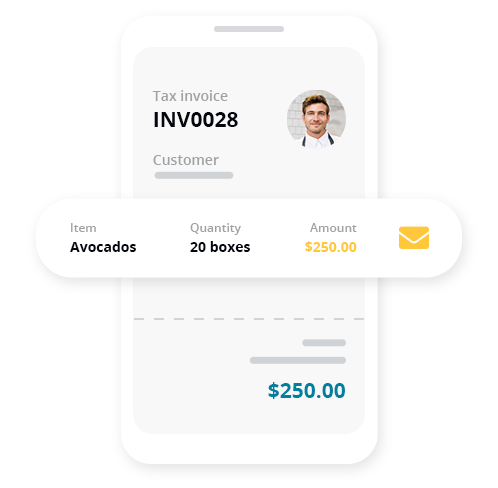 Invoice on the go, get paid faster As a farmer, it can be hard to find the time to sit behind a computer screen to do your bookkeeping. With Reckon One this isn't a problem. You can view all your financial data on any device from wherever you are, keep up to date on the health of your business or quickly send invoices with the Reckon One mobile app.